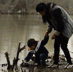 В хождениях к воде участвуют тысячи лянкяранцев