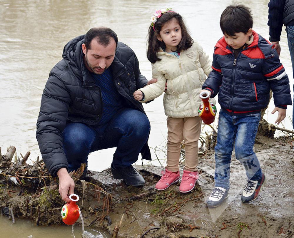 Празднование Вторника Земли в Лянкяране