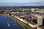 Вид на город Дюссельдорф