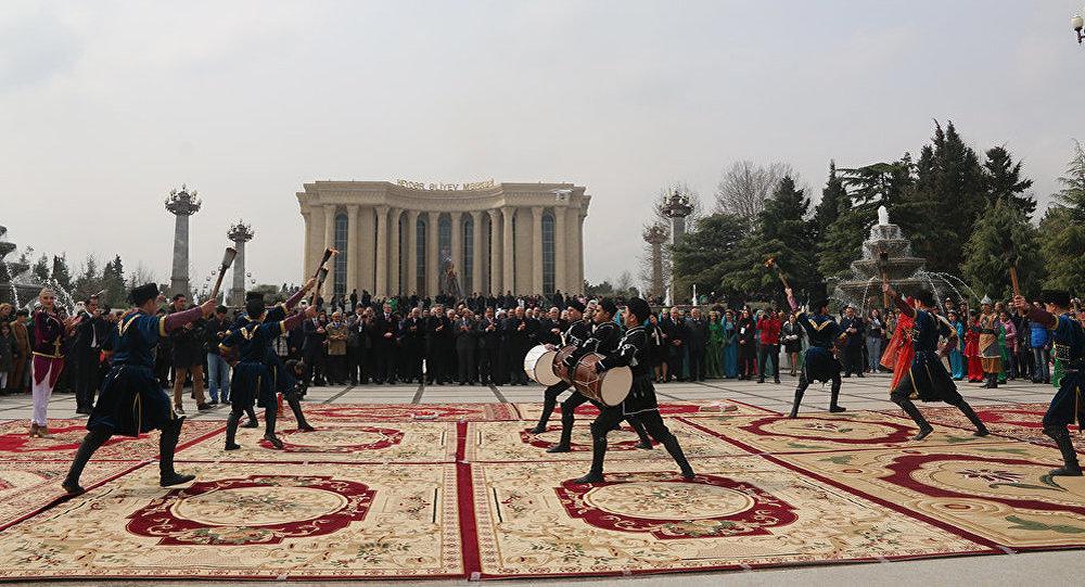 Gəncədə Novruz bayramı