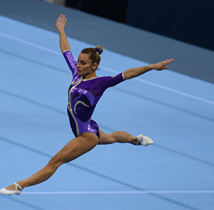 Финал Кубка мира по спортивной гимнастике в Баку