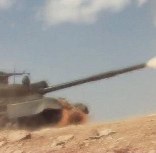 Армия САР против боевиков в Хомсе