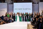"""Турецкий дизайнер Зейнаб Картал представила свою коллекцию """"Adamo"""" в Баку"""