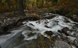 Горная река, фото из архива