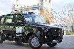 Londonda elektrik taksi