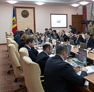Кабинет министров Молдовы, фото из архива