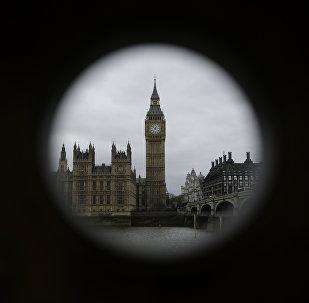 Дом парламента и башня Биг Бен в Лондоне