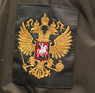 Образец шеврона военнослужащего Национальной Гвардии