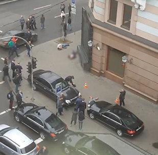 Первые минуты после убийства Вороненкова в Киеве