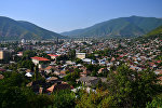 Вид на город Шеки, фото из архива