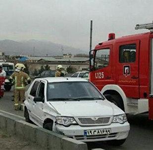 Цепная авария в Мешхеде