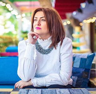 Азербайджанская исполнительница Айгюн Тагиева, фото из архива