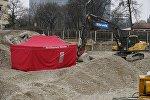 Место, где была обнаружена и обезврежена бомба, Унгерер штрассе, Мюнхен