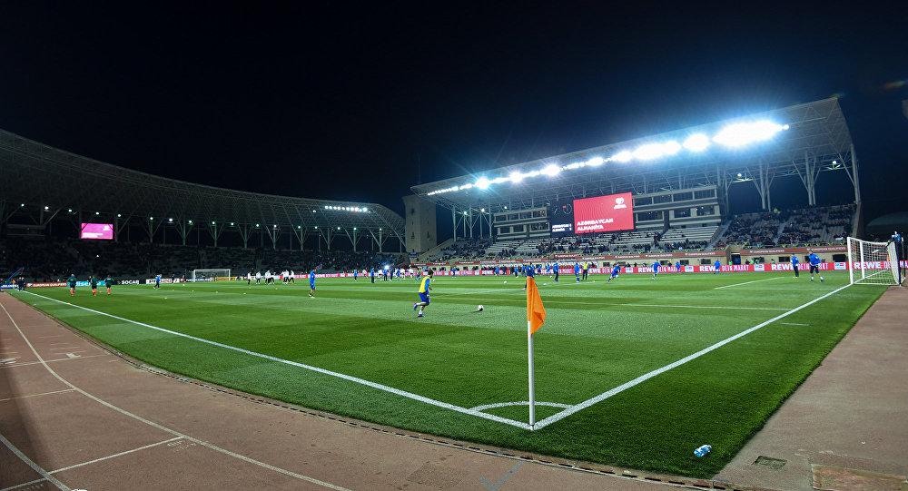 Стадион Тофига Бахрамова в Баку, фото из архива