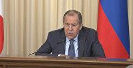 Лавров о реакции Запада на несогласованные акции в РФ