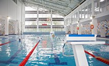Üzgüçülük hovuzu, arxiv şəkli