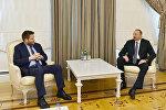 İlham Əliyev BP-nin regional prezidentini və əməliyyat direktorunu qəbul edib