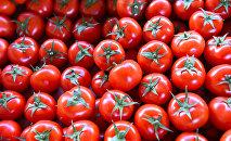 Продажа помидоров, фото из архив