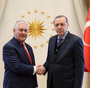 Recep Tayyip Erdoğan - Rex Tillerson