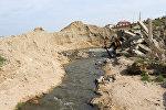 Dənizə axıdılan çirkab suları