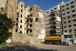 Разрушенные здания в столице Ливана
