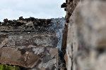Разрушенный в результате артобстрела дом в Агдамском районе Азербайджана, архивное фото