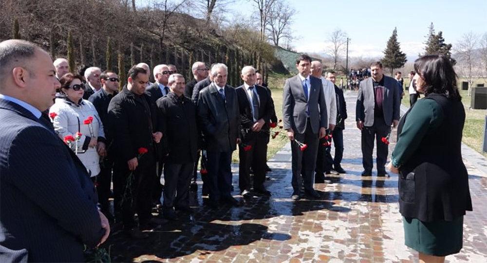FHN işçilərinin Həmkarlar İttifaqının üzvləri Quba Soyqırımı Memorial Kompleksini ziyarət ediblər