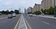 Проспект Гейдара Алиева в Баку, фото из архива