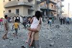 Боевые действия в Ракке, фото из архива