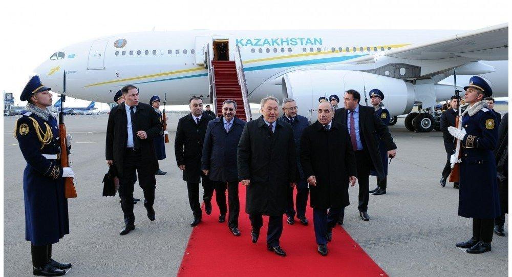 Президент Казахстана Нурсултан Назарбаев прибыл с официальным визитом в Азербайджан