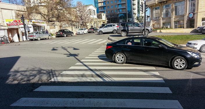 Пешеходный переход в Баку