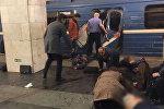 Sankt-Peterburq metrosunda partlayish