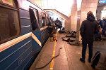 Peterburq metrosunda partlayış, 3 aprel 2017-ci il