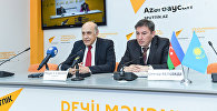 Видеомост Баку-Астана по итогам визита президента Казахстана