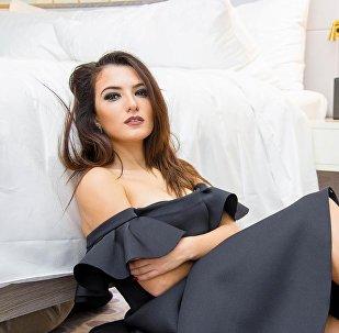 Азербайджанская певица Диляра Кязымова