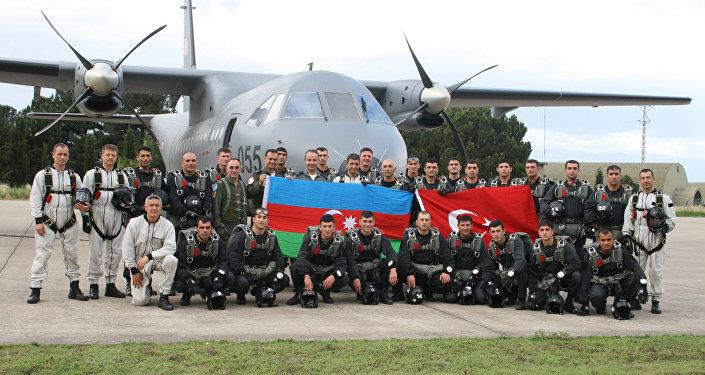 Совместные военные учения Азербайджана и Турции, фото из архива