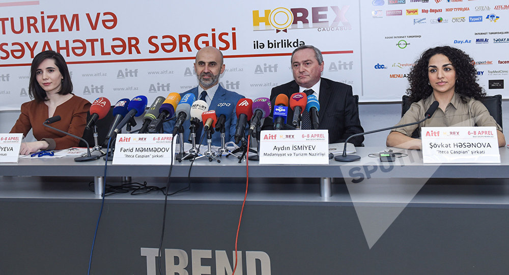 Президент Азербайджана посетил дагестанский стенд натуристской выставке вАзербайджанской столице