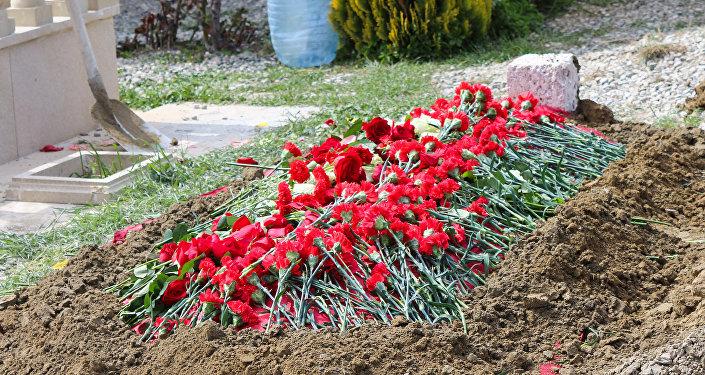 Похороны Дильбар Алиевой