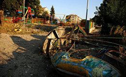Город Шуша был разрушен во время войны за Нагорный Карабах, фото из архива