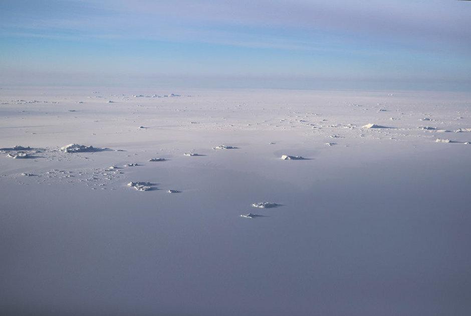 Yuxarı Baffin körfəzi sahili ərazisindəki buz örtüyü