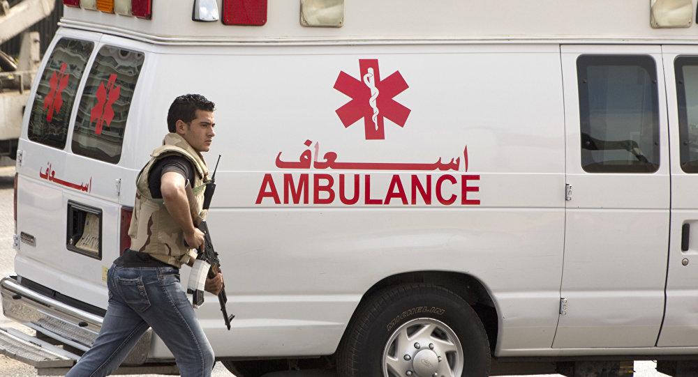Машина скорой помощи в Каире, фото из архива