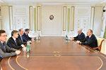 Президент Ильхам Алиев принял делегацию во главе с секретарем Совета безопасности России