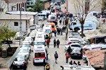 Diyarbəkir şəhərində, polis bölməsi yaxınlığında baş verən partlayış