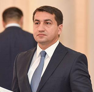 Хикмет Гаджиев, глава пресс-службы МИД Азербайджана