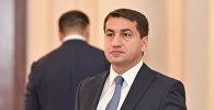 Хикмет Гаджиев, глава пресс-службы МИД Азербайджана, фото из архива
