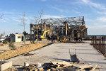 Bakı şəhəri, Səbail rayonunun Şıx qəsəbəsində baş verən uçqun