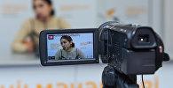 Пресс-конференция специалиста в области моды Марии Оруджевой Тренды весенней моды от азербайджанских дизайнеров