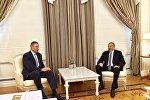 Президент Ильхам Алиев принял главу Киевской городской государственной администрации Виталия Кличко