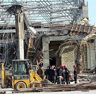 Обрушенное здание в поселке Ших, фото из архива