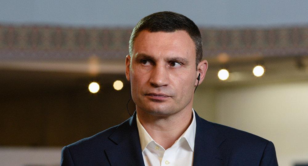 Мэр Киева Виталий Кличко, фото из архива